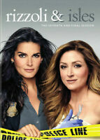 RIZZOLI & ISLES - THE SEVENTH & FINAL SEASON - DVD WITH SLIP CASE  LIKE NEW