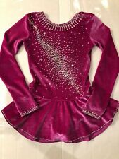 Mondor Customized Crystallization Ice Figure Skating Dress Girls Size 8-10