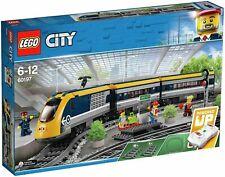 LEGO City Passenger RC Train Toy Construction Set 677 Pieces - 60197