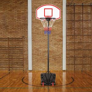 Basketballkorb Basketballständer Board Basketball Korb mit Ständer Brett 228cm