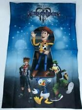 Kingdom Hearts 3 Promotional Cloth Fabric Poster