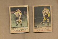 1951  PARKHURST   HOCKEY  # 24  & #  21
