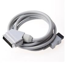 C��ble péritel AV RGB Scart pour Nintendo Wii Wii U - 1,80 mètre