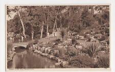 Rockery & Pine Walk, Bournemouth, W.H. Smith Postcard, B353