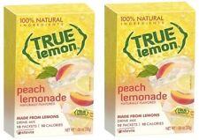 True Lemon Peach Lemonade Drink Mix 2 Box Pack