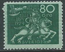 1924 SVEZIA CINQUANTENARIO UPU 80 ORE MNH ** - Y00