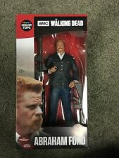 McFarlane Toys Walking Dead Abraham Ford Color Tops Red #7 Action Figure in Hand