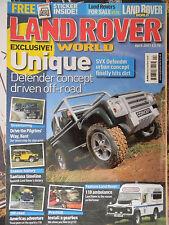 Land Rover World 04/2007 Series 1 2 3 Defender Range Discovery Freelander
