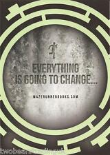 Postcard: The Maze Runner Books by James Dashner - Everything Is Going To Change