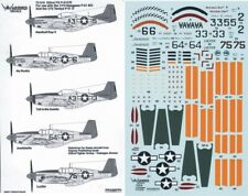 NEW 1:72 Warbird Decals 72019 North-American P-51C/P-51D Mustang 332 FG