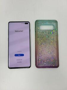 Samsung Galaxy S10 Plus SM-G975U1 128GB AT&T Verizon T-mobile (Unlocked)