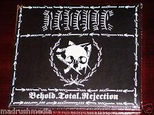 Revenge: Behold TOTAL rechazo - EDICIÓN DE LUJO CD 2015 Digipak w/Parche NUEVO