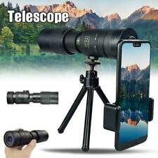 Durable 4K 10-300X40mm Super Telephoto Zoom Monocular Telescope for Beach Travel