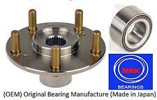 Front Wheel Hub & (OEM) (NSK) Bearing Kit FOR 1997-2001 HONDA PRELUDE