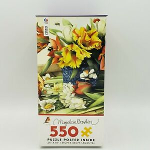 Ceaco Bastin Spring Tulips 550 Piece Jigsaw Puzzle  New Free Shipping