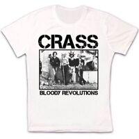Crass Bloody Revolutions 80 Punk Rock Retro Vintage Hipster Unisex T Shirt 1160