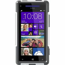 OtterBox Commuter Series Case for HTC Windows Phone 8X - Retail Packaging, White