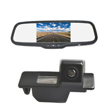 Reverse Camera & Clip-on Rear Mirror Monitor for Buick LaCrosse Excelle GT GL8