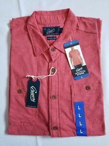 New Grayers Melrose Men's Button Front Pockets Polo Shirt T-Shirt Top Great Gift