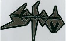 Sodom - Graues Logo Rückenaufnäher