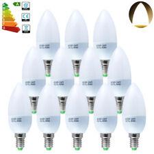 6er 3W E14 SES LED Leuchtmittel Lampe Kerzenlampe Glühbirne Warmtweiß 2700-3200k
