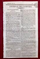 Manifeste de la Cour de Vienne 1809 Campagne d'Autriche Napoléon Empire