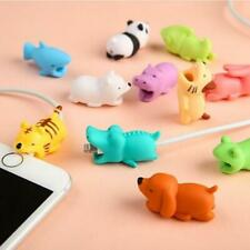 Adorable Animal USB Cable Bite Protective Cover For iPhone Android Apple Charger