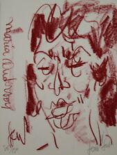 GEN Paul- Lithographie originale signée - Maria Anderson