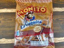Mexican Candy Monito La Vaquita Nuez Pecan Caramel Chew Pops Paletas Caramelo 40