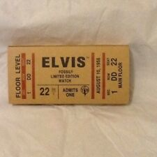 Elvis Fossil Limited Edition Watch in  Tin