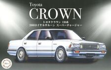Fujimi ID-32 1/24 Scale Model Car Kit Toyota Crown 130 Royal Saloon Supercharger