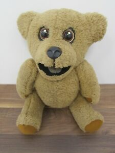 Vintage 1970s Nookie Bear Ventriloquist Puppet with Moving Eyes Roger De Coursey