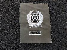(a4-101) US schiessabzeichen Bw Olive Expert Noir Blanc Rifle tissu insigne