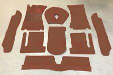 Autoteppich Komplettaustattung für Volvo P1800 E Coupe 1969-1972 Cognac Schlinge