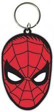 SPIDERMAN FACE - Schlüsselanhänger Rubber 4,5 x 6cm