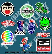 SKATE MEGA PACK DECAL STICKER SET X11 SKATEBOARDING AMERICANA STICKERS GIFT