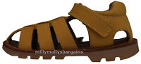 New Boys Yellow Leather NEXT Sandals Size 9 Infant RRP £26