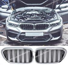 rejilla de M5 sonido envolvente de Cromo Negro dos Bar BMW 5 serie G30 G31 F90 Sedán Estate