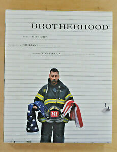 Brotherhood ~ Frank McCourt ~ Signed by a FDNY Firefighter Autograph~ 9/11 Heros