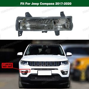 Right Side Marker Parking Turn Signal Corner Light For Jeep Compass 2017-2020