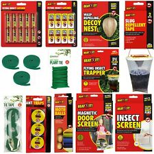 Magnetic Door Screen,Ant/Fly Trapper,Insect Catcher,Wasp Repel Nest,Plant Tie