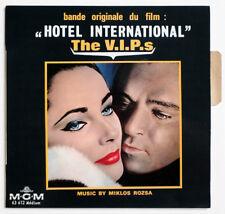 MIKLOS ROZSA Hotel International The V.I.P.s OST france MGM 63612 EP +TAG