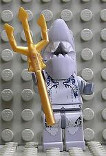 LEGO ATLANTIS-Shark Warrior con Dreizack/atl004 Merce Nuova