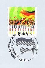 RFA 2012: Football Passionné Allemagne N° 2930 avec Bonner Timbre spécial! 1A