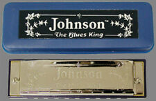 Johnson Blues King Harmonica Key of G