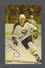 Mike Ramsey signed Buffalo Sabres Dexter Press hockey postcard