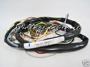 SUZUKI TS125 TS125ER TS185 MAIN HARNESS WIRING LOOMS (CA)