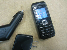 GOOD Nokia 6030 Black Speaker Dualband GSM Messaging FM Radio AT&T Cell Phone