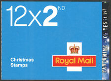 """LX35a / SB6(16)A 2008 """"Oh Yes It Is!"""" 12 x 2nd Class Christmas Booklet"""