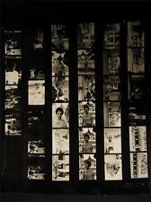 '60 Far East Fashion Glamour Magazine VINTAGE CONTACT SHEET By Milton Greene 41B